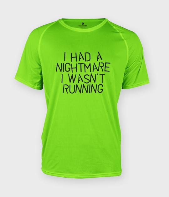 Koszulka męska sportowa Nightmare