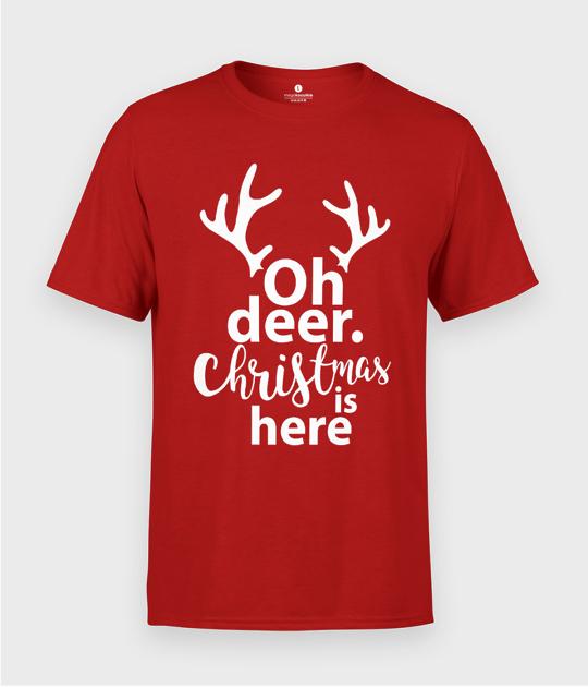 Koszulka męska Oh deer