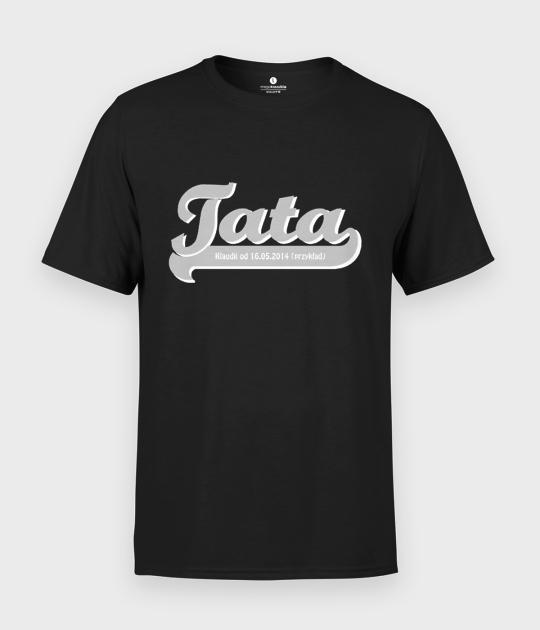 Koszulka męska Tata + Twój tekst