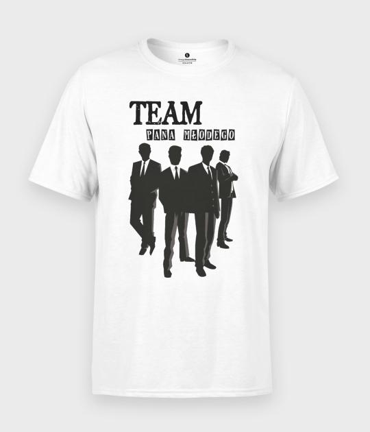 Koszulka męska Team Pana Młodego