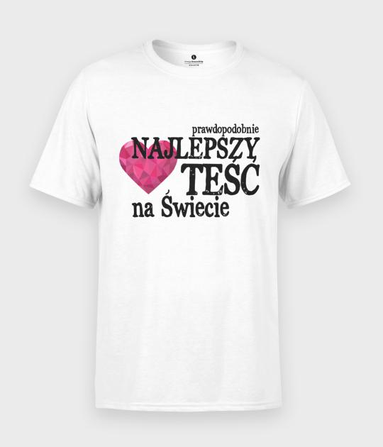 Koszulka męska Najlepszy Teść na Świecie