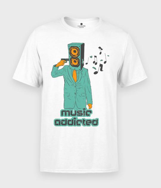 Koszulka męska Music Addicted
