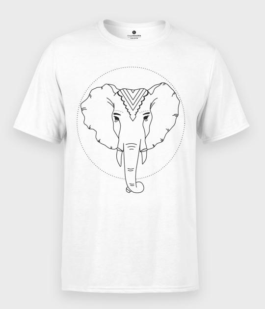 Koszulka męska Słoń