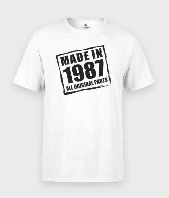 Koszulka męska Made in + Twoja data