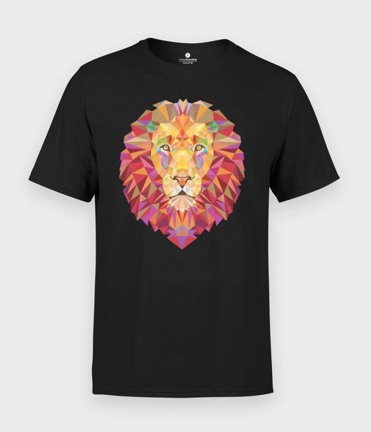 Koszulka męska Lion Triangle