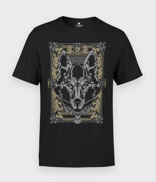 Koszulka męska Szary Wilk