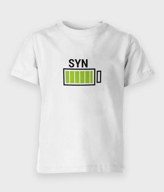 Koszulka dziecięca Syn - bateria