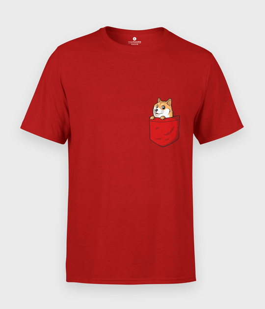 Koszulka męska Pieseł Pocket