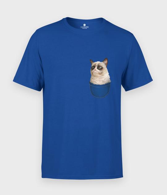 Koszulka męska Cat Pocket