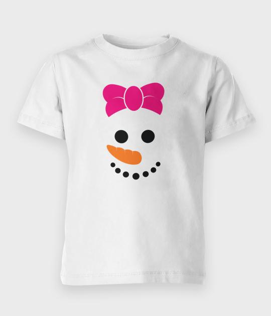 Koszulka dziecięca Snowman - córka