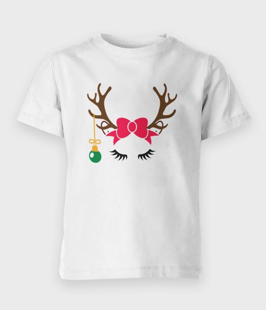 Koszulka dziecięca Renifer - córka