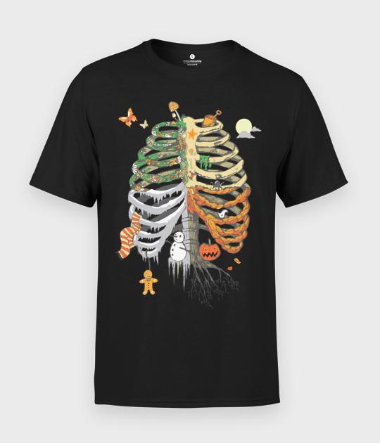 Koszulka męska Żebra
