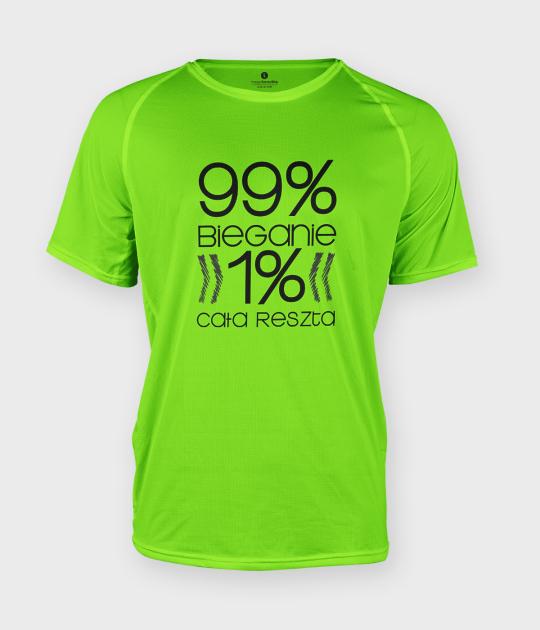 Koszulka męska sportowa Procenty