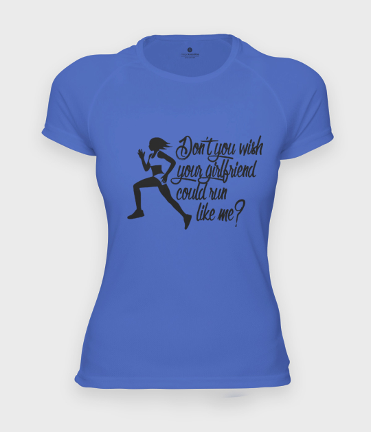 Koszulka damska sportowa Run like me 2
