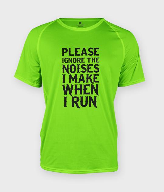 Koszulka męska sportowa Noises