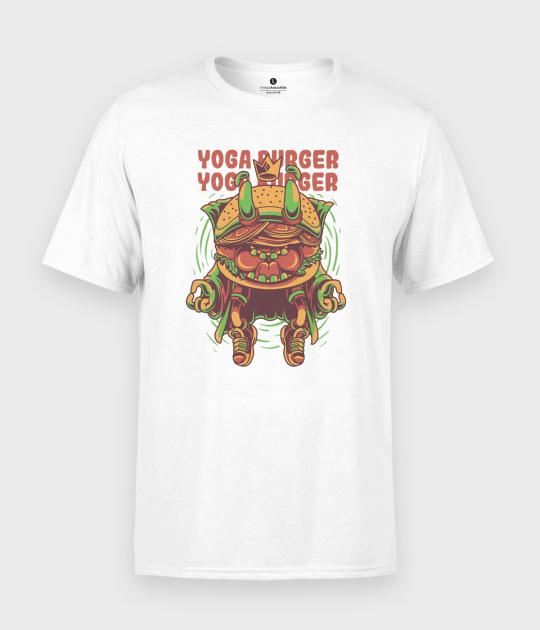 Koszulka męska Yoga burger