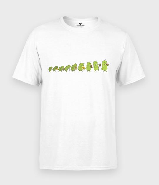 Koszulka męska Robot evolution