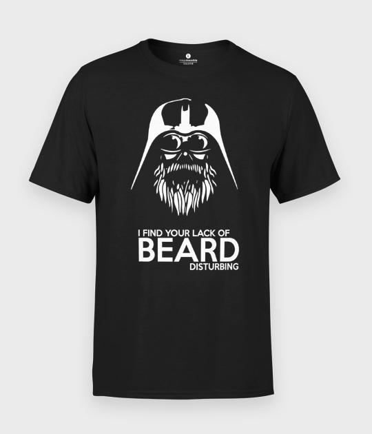 Koszulka męska Lack of beard