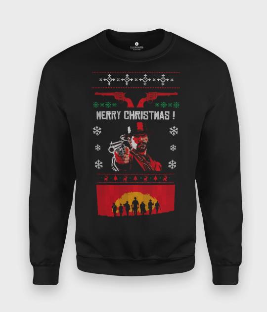 Bluza klasyczna Red Dead Christmas