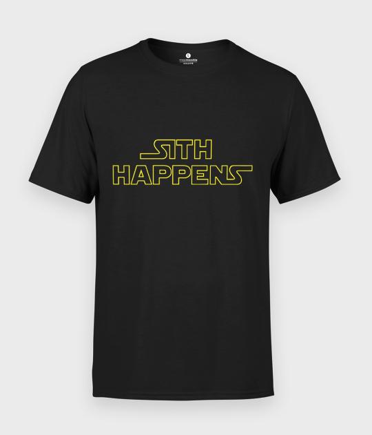 Koszulka męska Sith happens