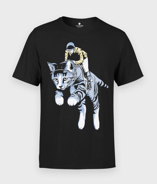 Koszulka męska Cat rider