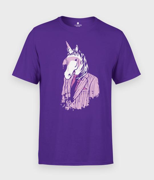 Koszulka męska Elegant unicorn