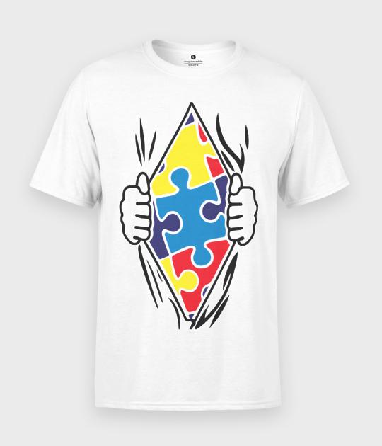 Koszulka męska Puzzle
