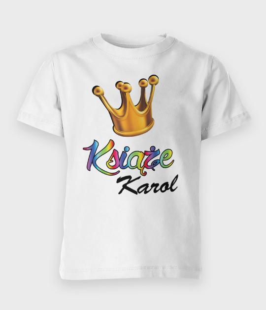 Koszulka dziecięca Książę + Imię