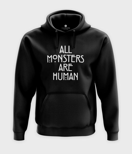 Bluza z kapturem All monsters