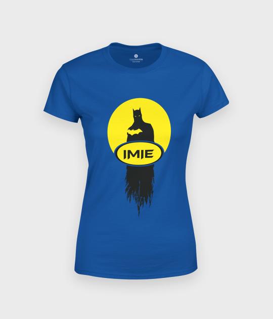 Koszulka damska Batman + Twoje imię