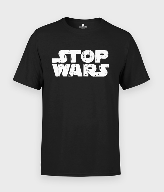 Koszulka męska Stop wars