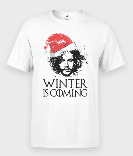 Koszulka męska Snow is coming