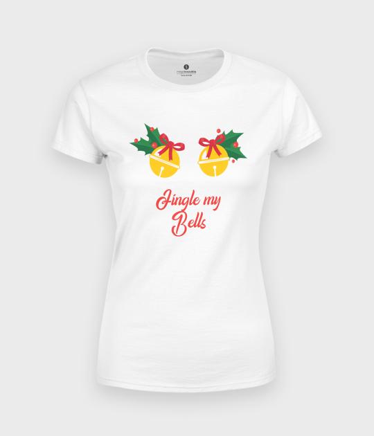 Koszulka damska Jingle Bells dla dziewczyny