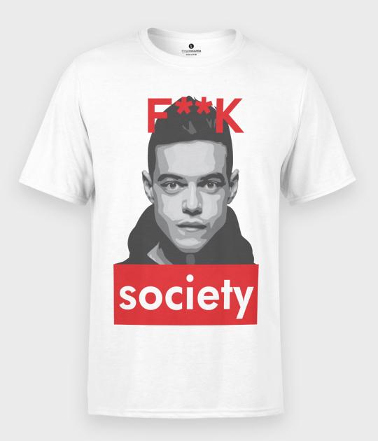 Koszulka męska Robot Society