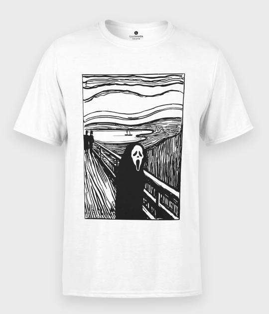 Koszulka męska Krzyk