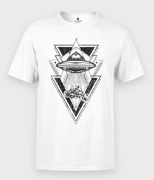 Koszulka męska Statek Ufo
