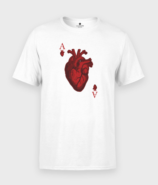 Koszulka męska Ace of Hearts