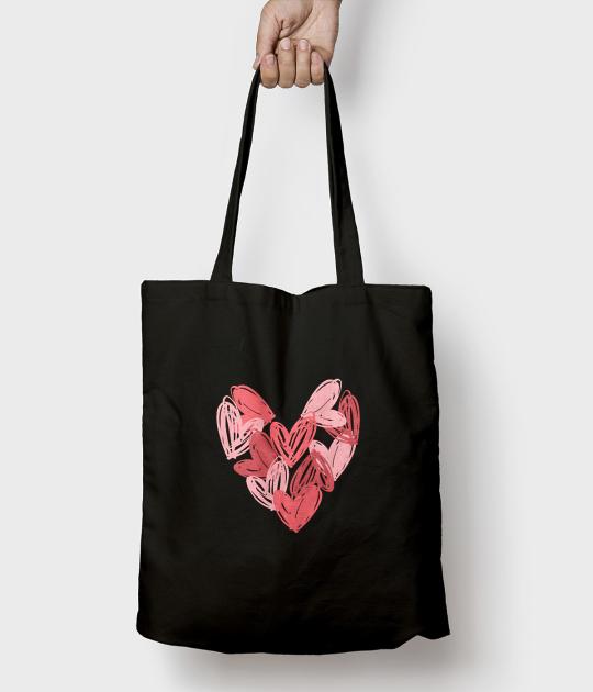 Torba bawełniana Love bag