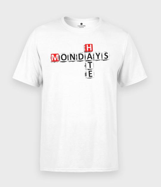 Koszulka męska I hate Mondays 2