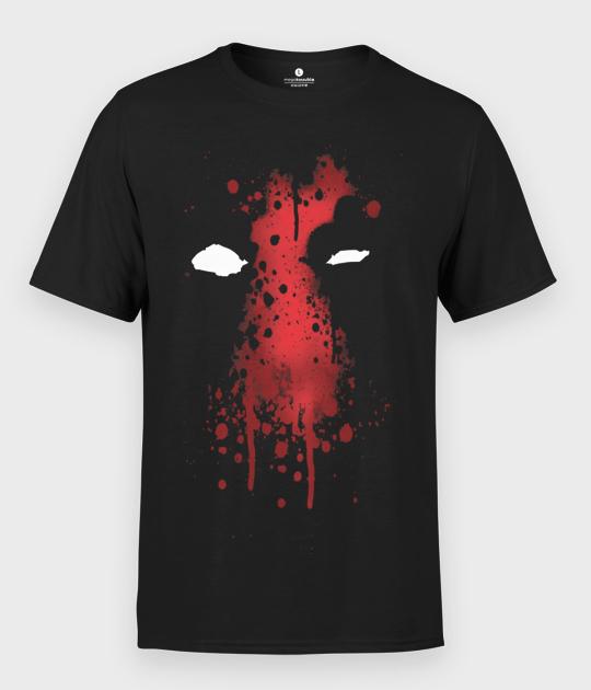 Koszulka męska Deadpool Paint