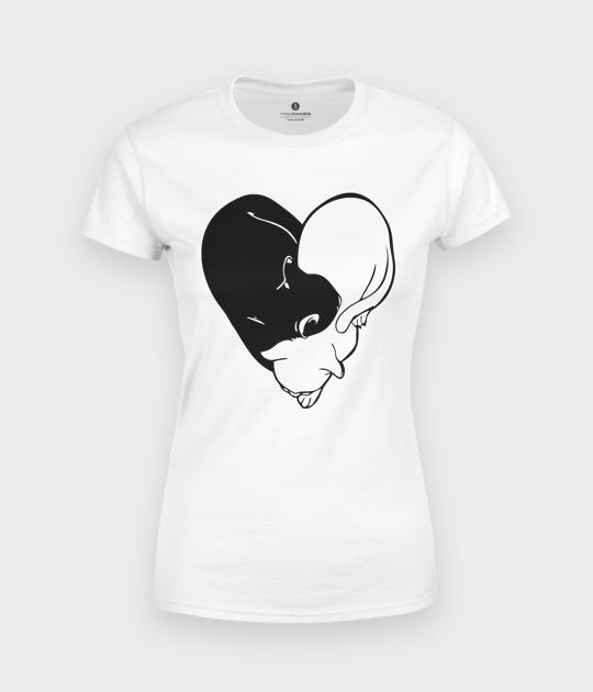 Koszulka damska Yin Yang Koty