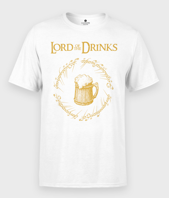 Koszulka męska Lord of The Drinks