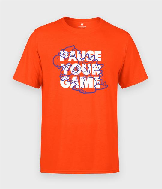 Koszulka męska Pause Your Game