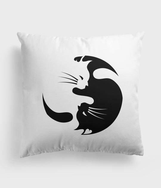 Poduszka Yin Yang Koty 8