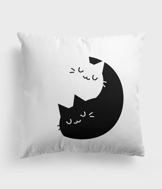 Poduszka Yin Yang Koty 9