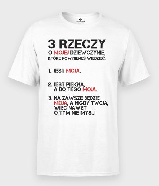 Koszulka męska Trzy rzeczy
