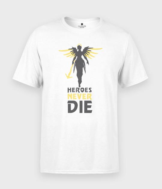 Koszulka męska Heroes never die