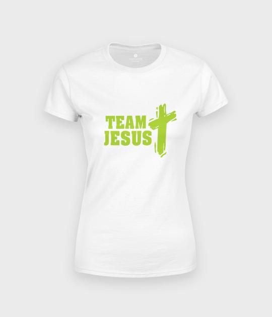 Koszulka damska Team Jesus