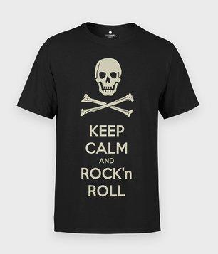 Koszulka Keep Calm and Rock n Roll
