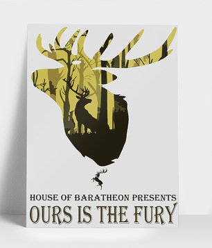 Plakat Ours is the fury